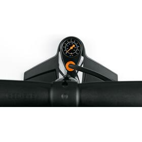 SKS Air-X-Press 8.0 Cykelpumpe multiventils-slangetilslutning sort
